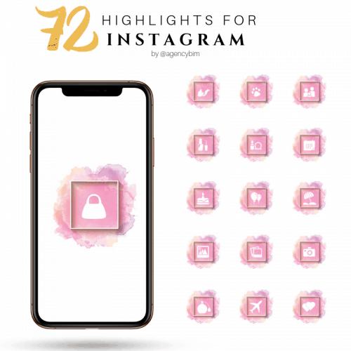 dream pink instagram highlights